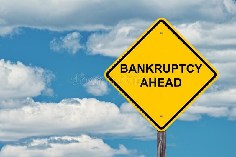 bankruptcy-ahead