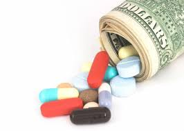 pills and money