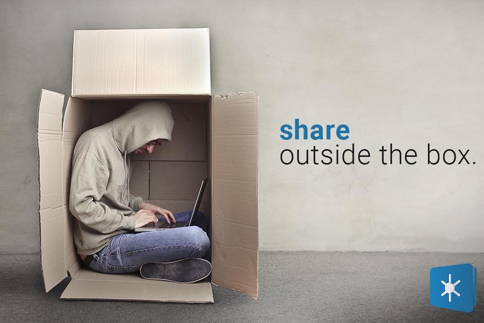 share outside the box